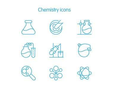 Chemistry icons