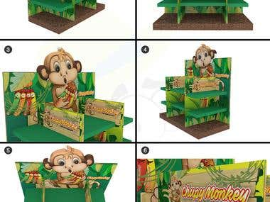Stand Chupy Monkey