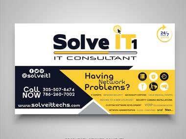 Sticker SOLVE IT1 - MIAMI