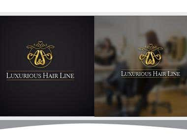 A & A hair saloon logo