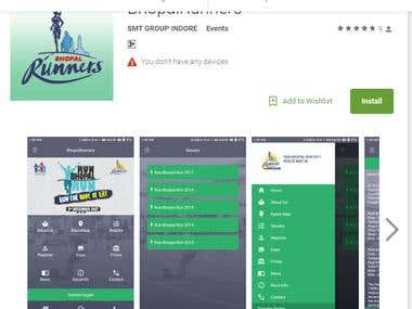 https://play.google.com/store/apps/details?id=com.bhopalrun