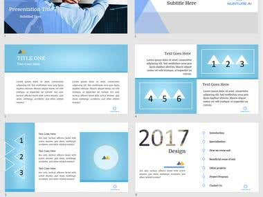Animated PowerPoint Presentation design