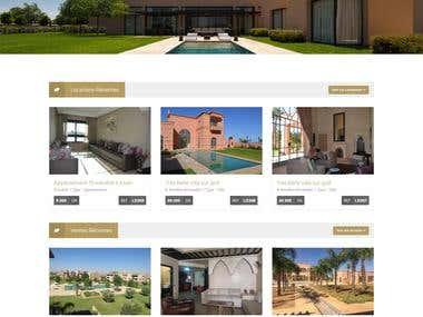 Marrakimmo wordpress website