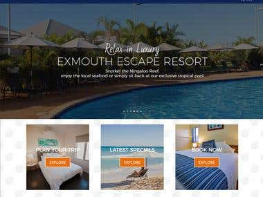 Website Design for Luxury Hotel