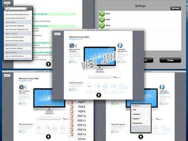PDF Reader - (iPad)