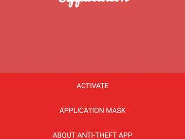 Anti Theft App