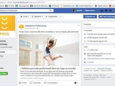 Habitissimo - Brasil - Profissionais - Facebook