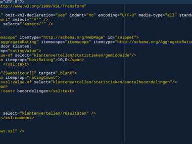 WordPress plugin for XML feed processing via XSLT