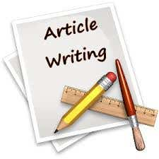 How can I write Article in any topic.