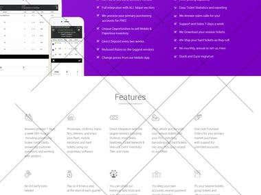 Web Mockup Design