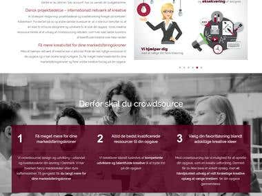 CrowdWorks IVS - Website Design & Development