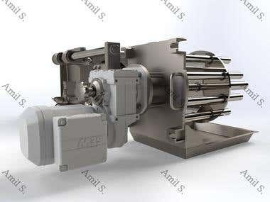 Powder machine