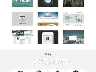 Responsive Website Layout Design