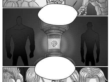 Manga / comic