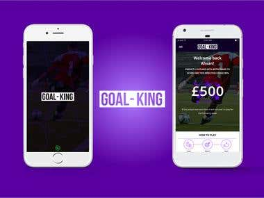Goal King | A betting app