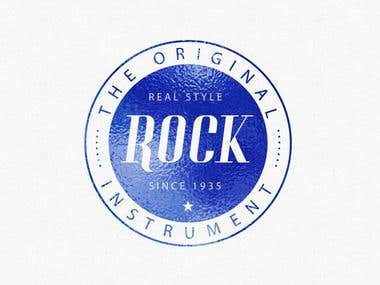rock logo design