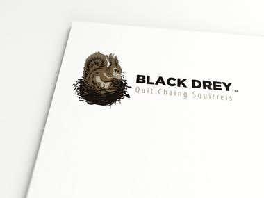 Black drey Logo