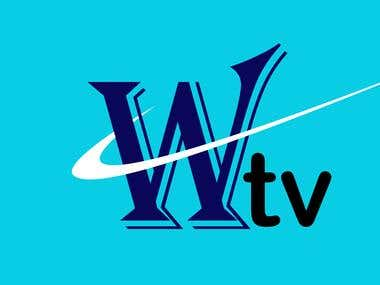 Wtv logo Design