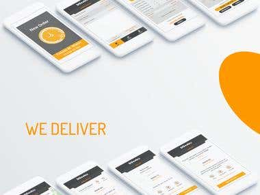 DCentro Food Delivery App