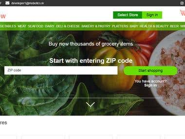 Grocery Site