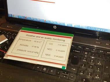 E paper Measurement system