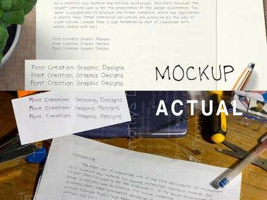 Custom Font | Typeface Creation