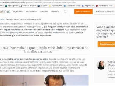 Habitissimo - Brasil - Profissionais
