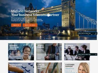midlandnetworks co uk website