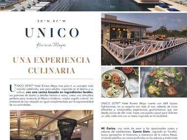 Article for Unico Hotel Riviera Maya