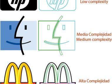 logo vectorization