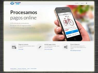 Mercadopago Landing Page