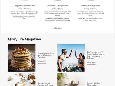 Shopify Online Shop