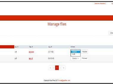 File Manager Server