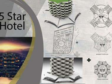 5 Star Hotel Modelling and Visulization