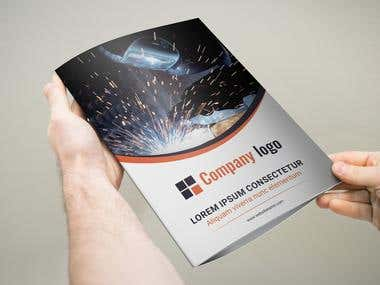 Technical Tri-fold brochure