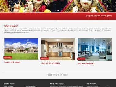 Vastu website