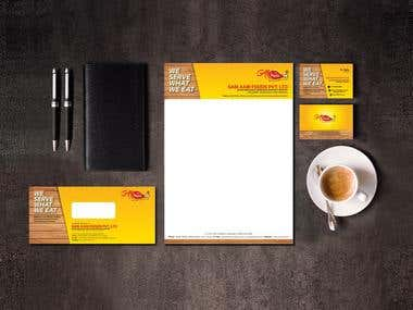 Stationery and Logo's
