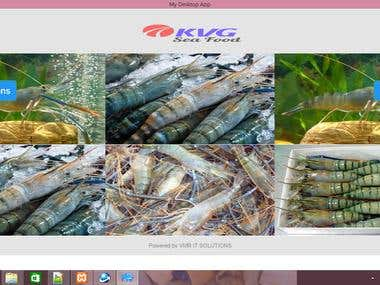 Billing Software for Sea foods import&export Bussiness