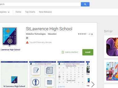 Educational Institution App