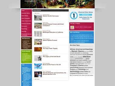 HMCurrentevents - Wordpress Site