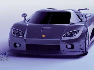 3D Modeling [Koenigsegg CCXR]