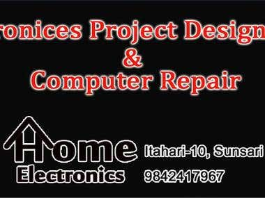 Home electronics Banner