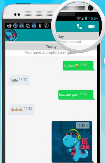 Chatting Android app