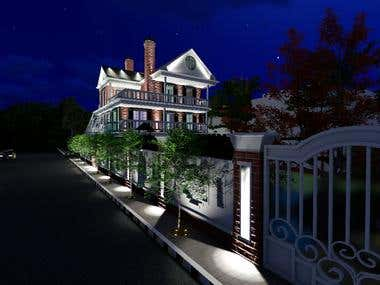 house night render # KSA