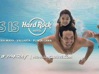 Hard Rock Hotel Lifestyle Billboard