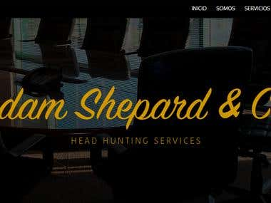 WEB Site Adam Sheppard