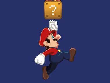 Tropiburger - Mario Bross
