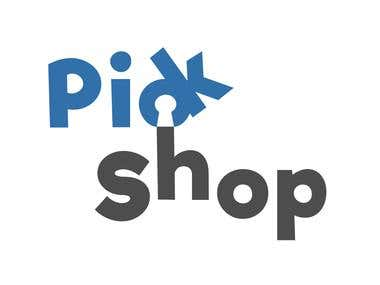 Pick Shop Logo