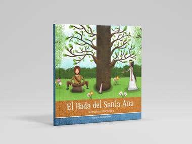 """Ilustración para portada """"El hada del Santa Ana"""""""