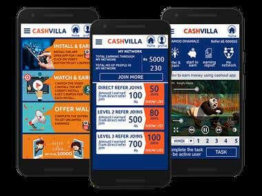 Cashvilla - Earn Money Online